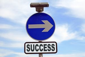 Success is this way