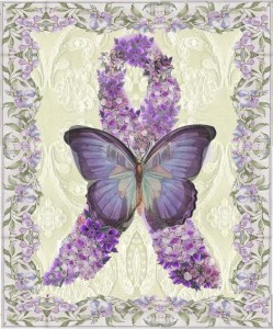 HMD Purple Butterfly- Seizure Disorders and Fibromyalgia