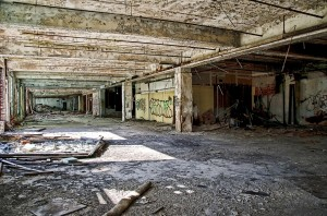 Old Auto Factory In Detroit