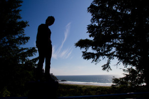 Anousha at Cape Disappointment