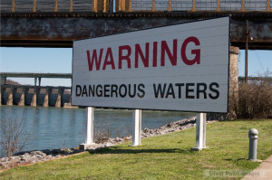 Warning Dangerous Waters