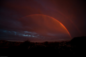 Double Rainbow over Morro Bay CA 24 June 2010-2