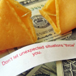 Good Fortune?  Coincidence?  You Decide!