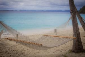 Dreamy Hammock In The Virgin Islands